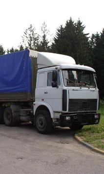 Wallpapers MAZ Trucks screenshot 2