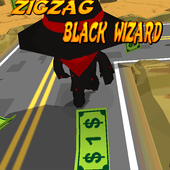 Zig Zag Black Wizard icon