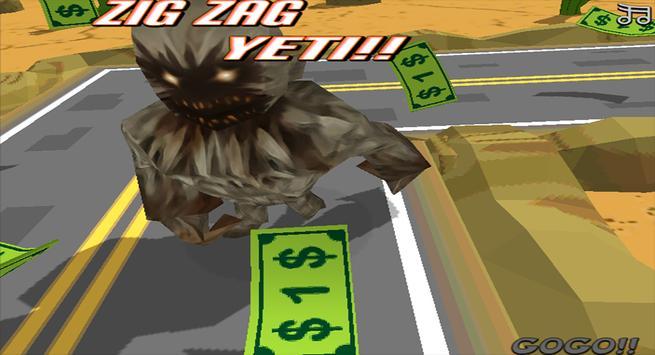 Zig Zag Yeti screenshot 8