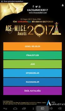 M.I.C.E Ödülleri screenshot 1