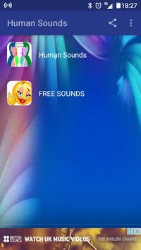 Human Sounds screenshot 1