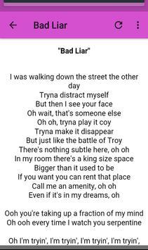 Selena Gomez Lyrics screenshot 1