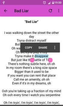 Selena Gomez Lyrics screenshot 2