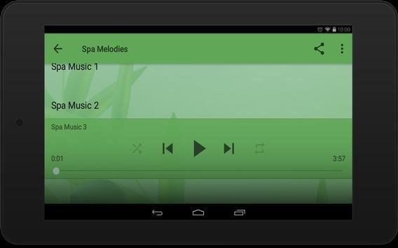 Spa Melodies screenshot 4