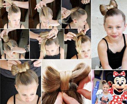 Little Girl Hairstyle Tutorial poster