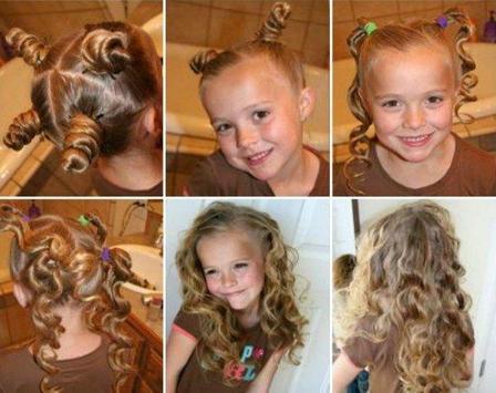 Little Girl Hairstyle Tutorial screenshot 3