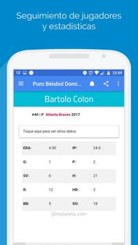 Puro Béisbol Dominicana apk screenshot