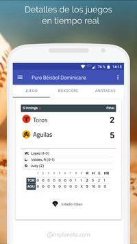 Puro Béisbol Dominicana poster