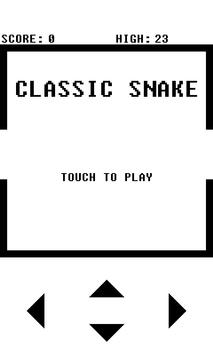Classic Snake Game poster