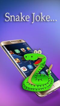 Snake screen joke poster