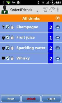 Order4Friends apk screenshot