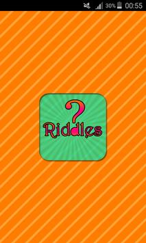 Riddle poster