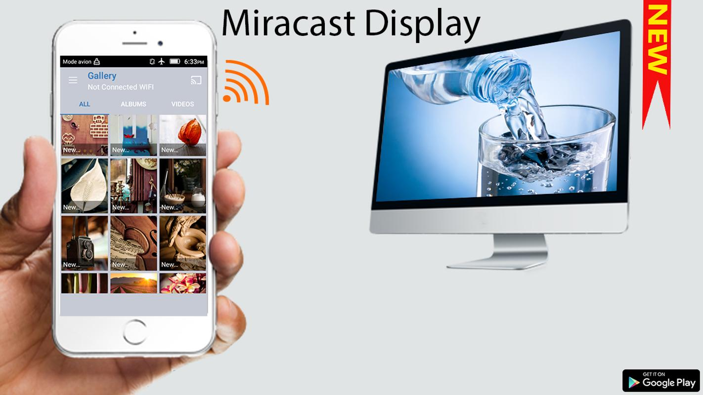 how to set up miracast android