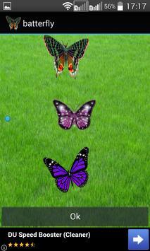 Butterfly Widget/Stickers apk screenshot