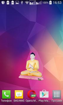 Budhha Widget/Stickers poster