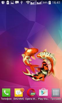 Koi fish Widget/Stickers poster