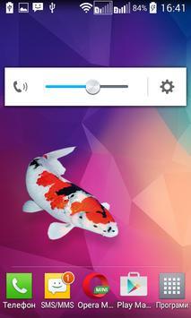 Koi fish Widget/Stickers apk screenshot