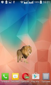 Lion Widget/Stickers poster