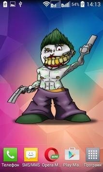 Skull Joker Widget/Stickers screenshot 2