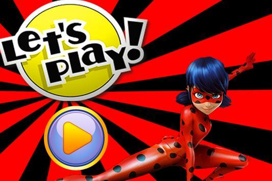 Hero LadyBug Jumper apk screenshot