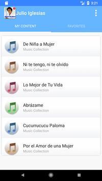Julio Iglesias Songs Top screenshot 2