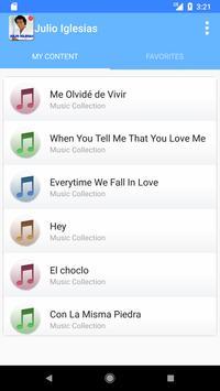 Julio Iglesias Songs Top screenshot 4