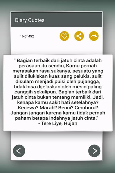 Diary Motivasi Dan Kata Cinta For Android Apk Download