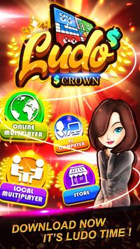 Ludo Crown poster