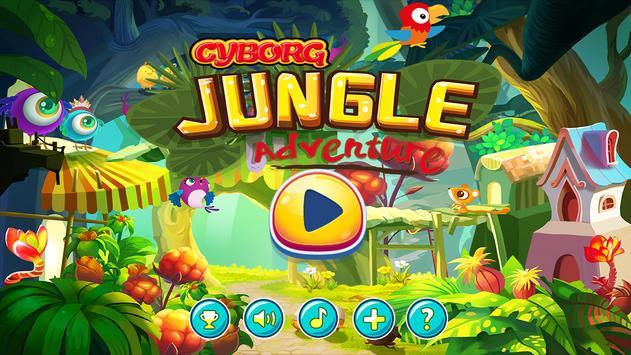 Cyborg Jungle Adventure poster