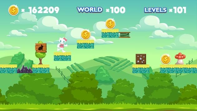 Hello Adventure Kitty World apk screenshot