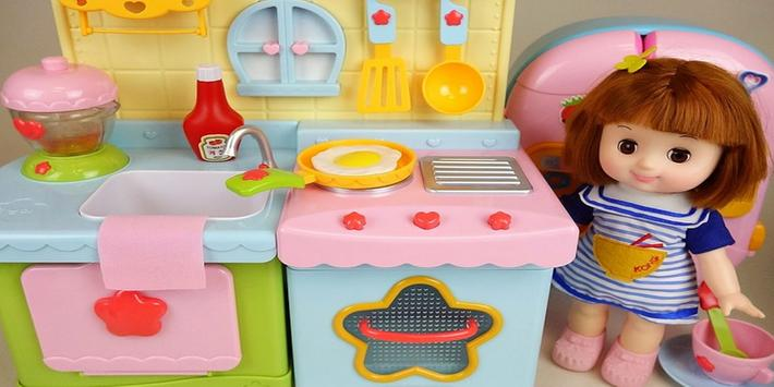 Toy Pudding Baby Doll Cooking Toys apk screenshot
