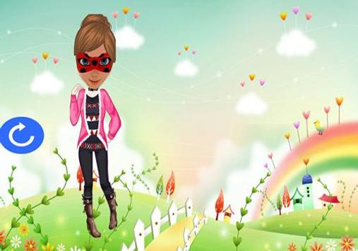 Miraculous Dress Ladybug Game apk screenshot