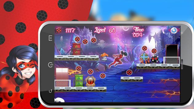 🐞Miraculous Lady bug Adventure apk screenshot