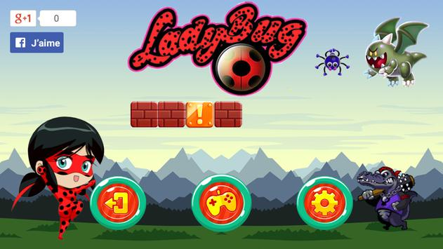 Ladybug super fun adventure poster