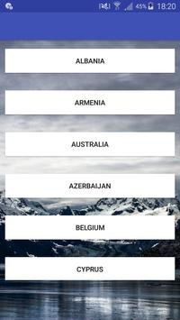 Lyrics Eurovision 2017 apk screenshot