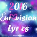 Lyrics Eurovision 2016