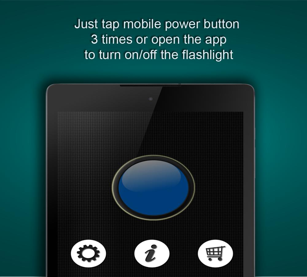 Power Button Flashlight for Android - APK Download