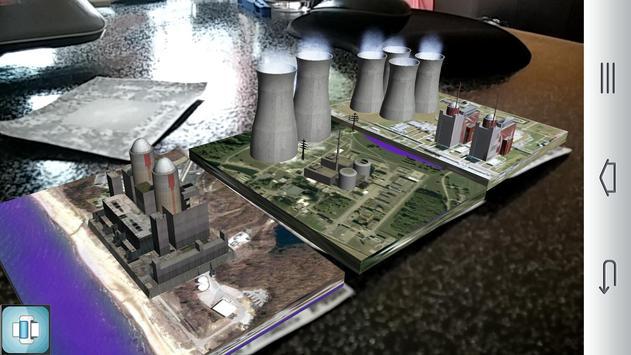 Augmented Nuclear plants apk screenshot