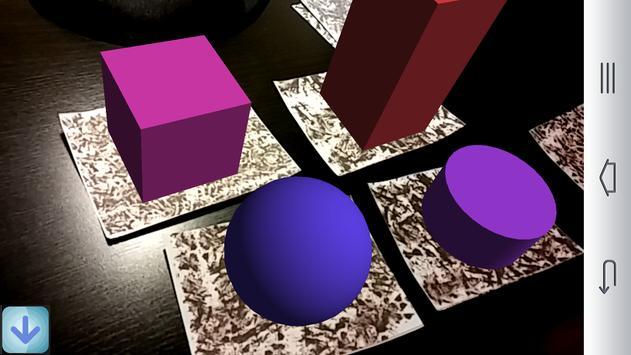 Augmented polyhedrons - Mirage screenshot 2