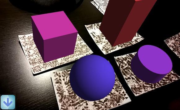 Augmented polyhedrons - Mirage apk screenshot