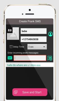 Send Fake Messages Prank screenshot 3