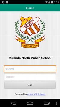 Miranda North Public School poster