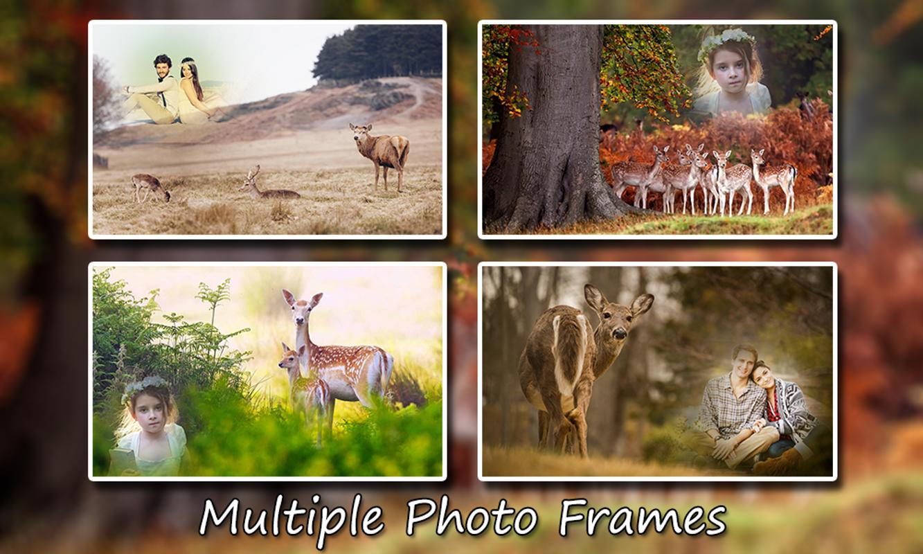 Deer Photo Frames for Android - APK Download