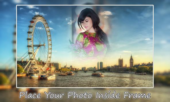 London Photo Frame poster