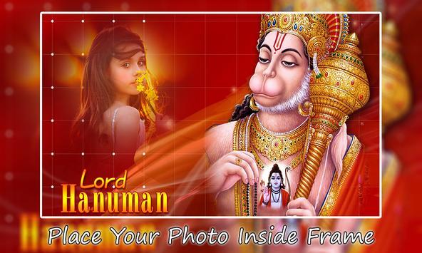 Lord Hanuman Photo Frames poster