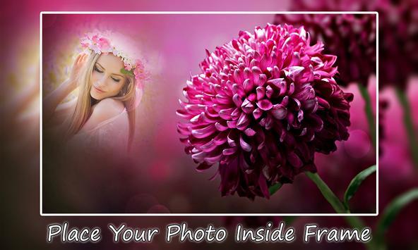 Neon Flower Photo Frames apk screenshot