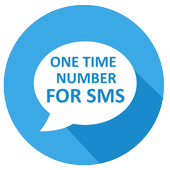 One-time number for SMS icon