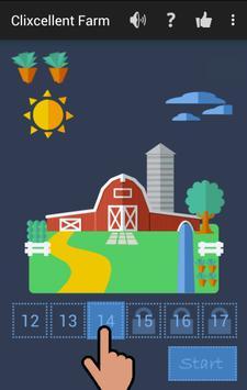 Clixcellent Farm - Get Smart! screenshot 1