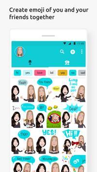 Mirror Emoji Keyboard apk screenshot
