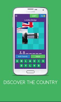 DISCOVER THE COUNTRY poster